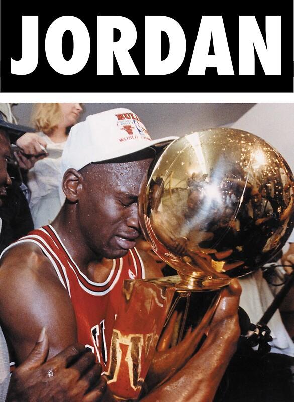 Michael Jordan Championship Trophy By Iixwyed
