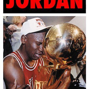 Michael Jordan (Championship Trophy Red) by iixwyed