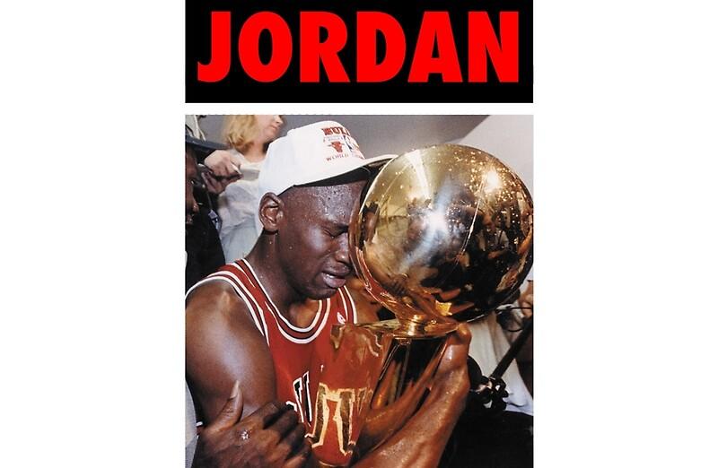 Michael Jordan Championship Trophy Red By Iixwyed