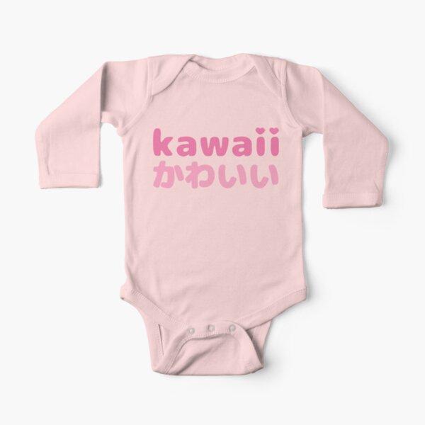 Japanese Sun Sushi Baby Boys Girls Long Sleeve Baby Onesie Bodysuit