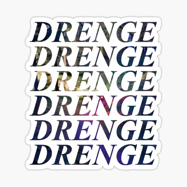 Drenge - Undertow Sticker