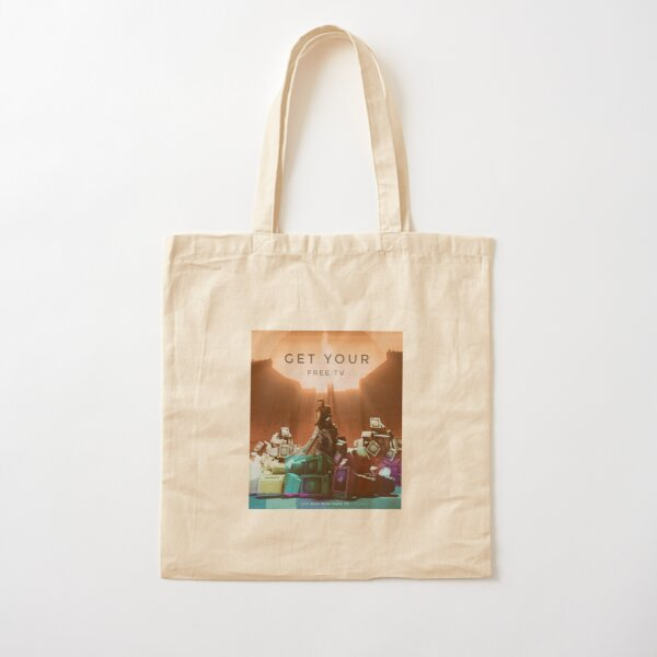 Get Your Free TV ! Cotton Tote Bag