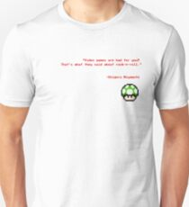 """Video games are bad for you?"" T-Shirt"