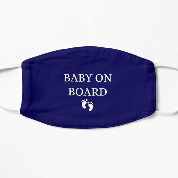Baby on Board  Flat Mask