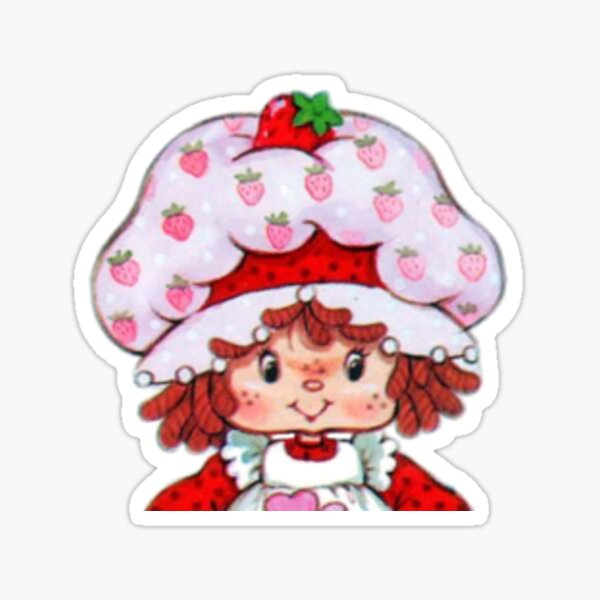 Strawberry Shortcake Vintage Sticker