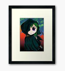 chibi thief Framed Print