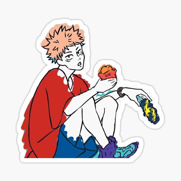 yuuji cool Sticker