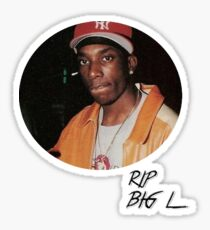 RIP Big L Rapper Sticker