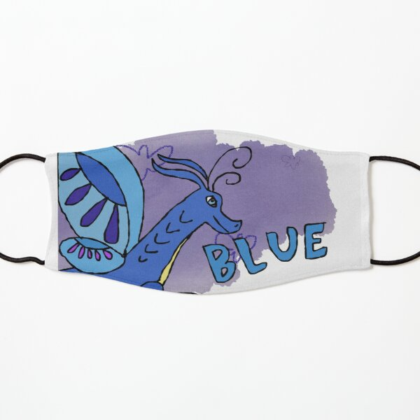 Wings of Fire - Blue Kids Mask