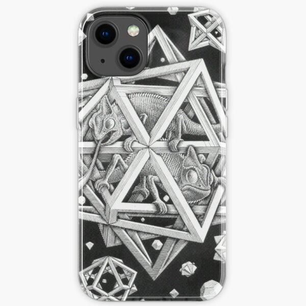 MC Escher Halftone iPhone Soft Case