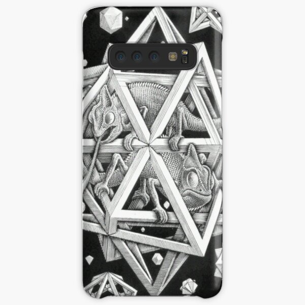 MC Escher Halftone Samsung Galaxy Snap Case