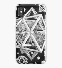 MC Escher Halftone iPhone Case