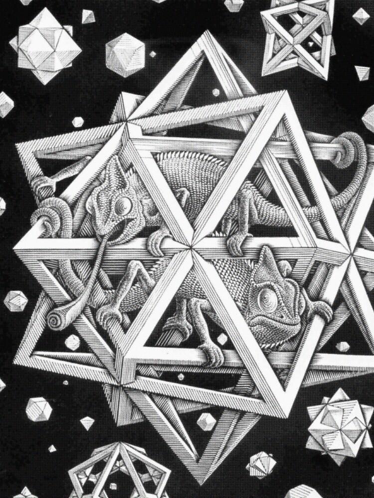 MC Escher Halftone by UnitShifter