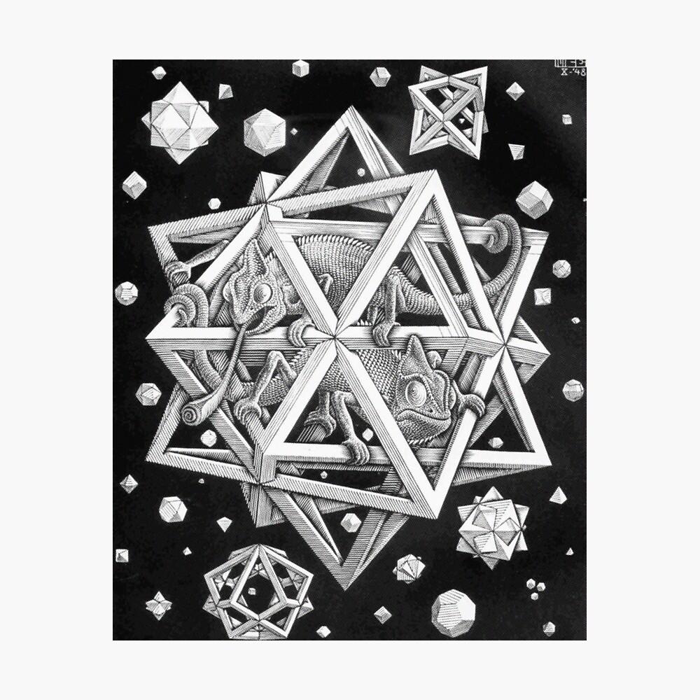 MC Escher Halbton Fotodruck