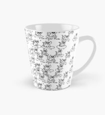 Cool Dude Skateboard Cat Tall Mug