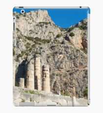 Temple of Apollo st Delphi UNESCO World Heritage Site Greece iPad Case/Skin