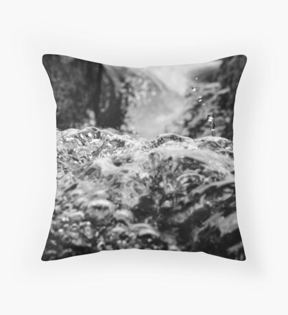 Rapid Transitions Throw Pillow