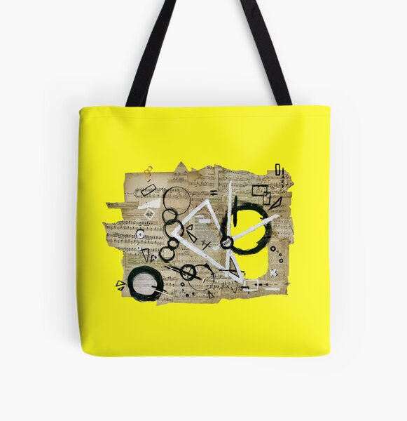 The Shape of Sound All Over Print Tote Bag