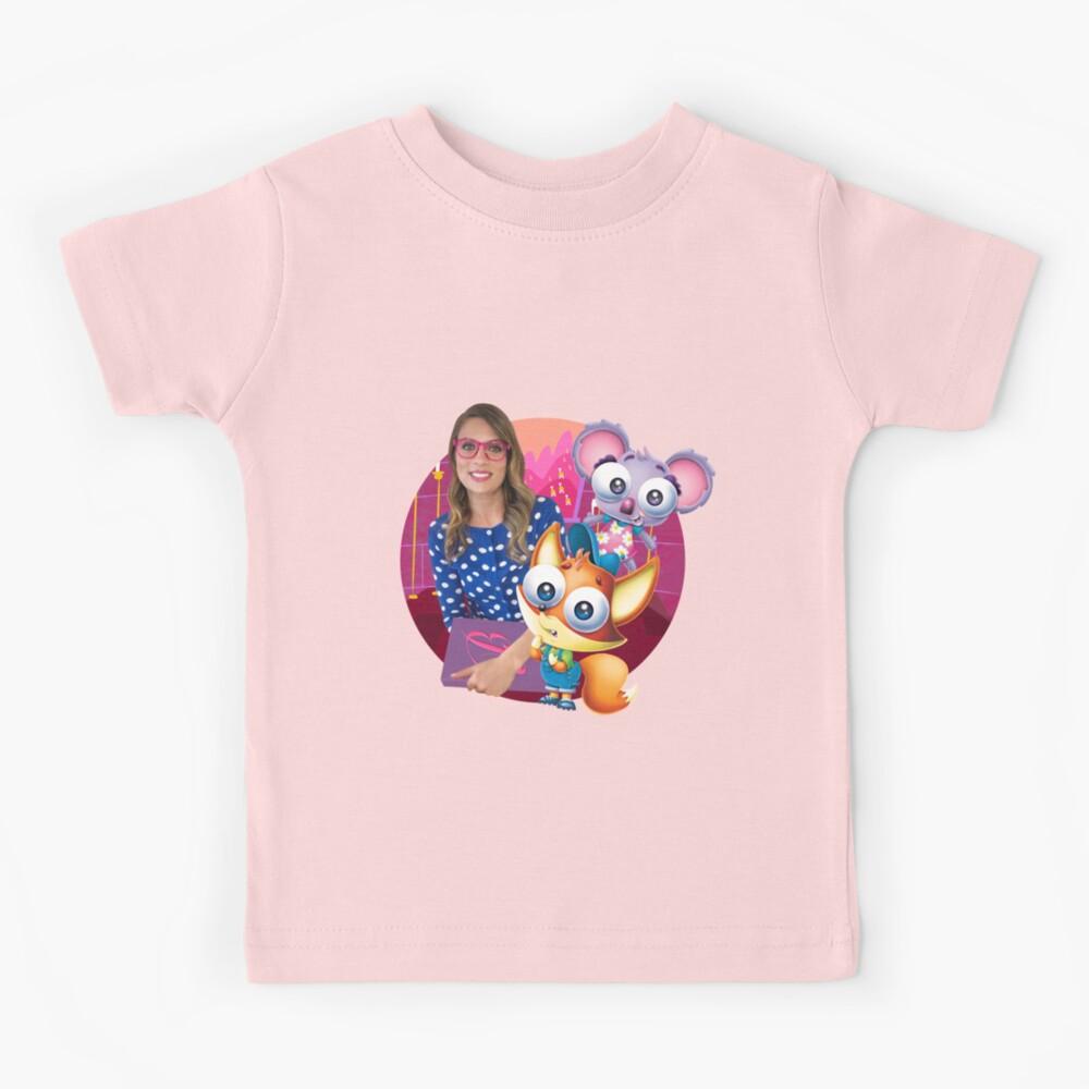 Ms. Booksy Storytime Cool School Kids T-Shirt