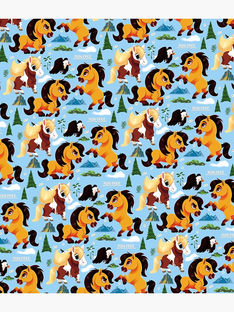Spirit Horse Pattern by sophieeves90