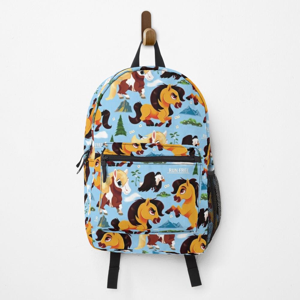 Spirit Horse Pattern Backpack