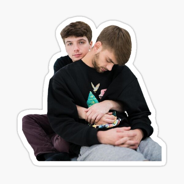 Karl Jacobs and Chandler Sticker