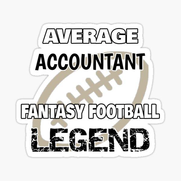 Fantasy Football Legend - Accountant Sticker