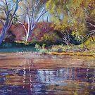 'Sugarloaf Creek' - Ashes Bridge by Lynda Robinson