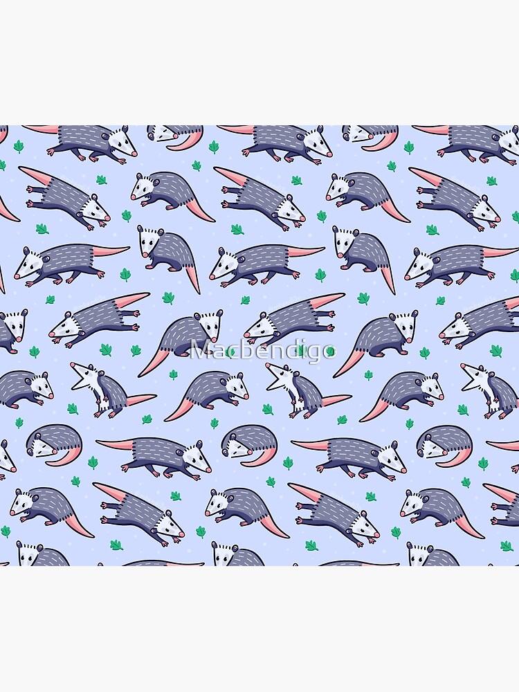 Opossum Pattern 2 by Macbendigo