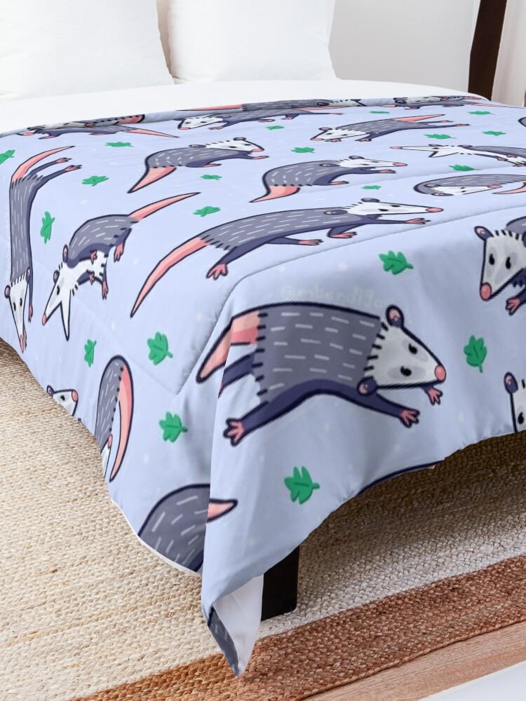 Alternate view of Opossum Pattern 2 Comforter