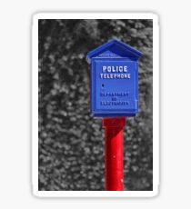 Police Telephone Sticker