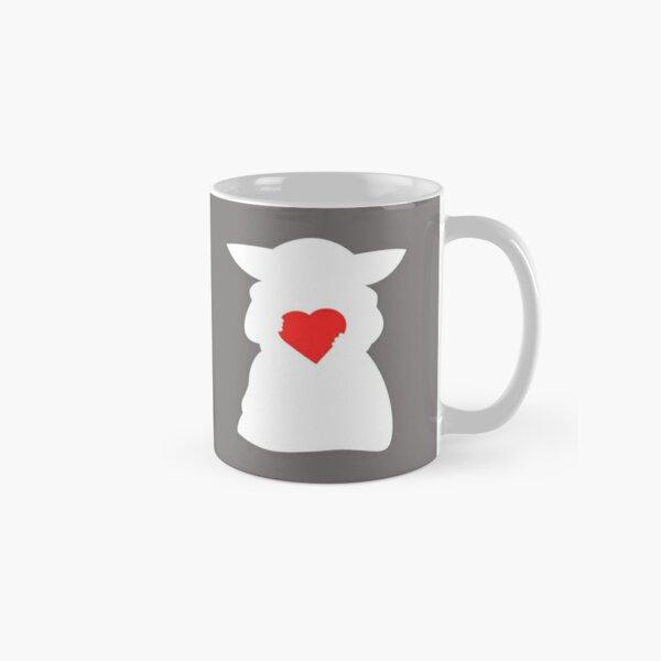 Heart Alien (White) Classic Mug