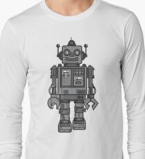 Vintage Robot Long Sleeve T-Shirt