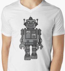Vintage Robot Men's V-Neck T-Shirt