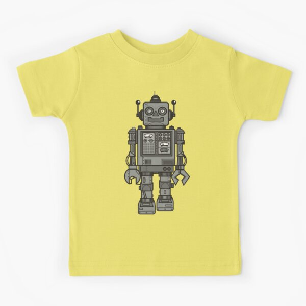 Vintage Robot Kids T-Shirt