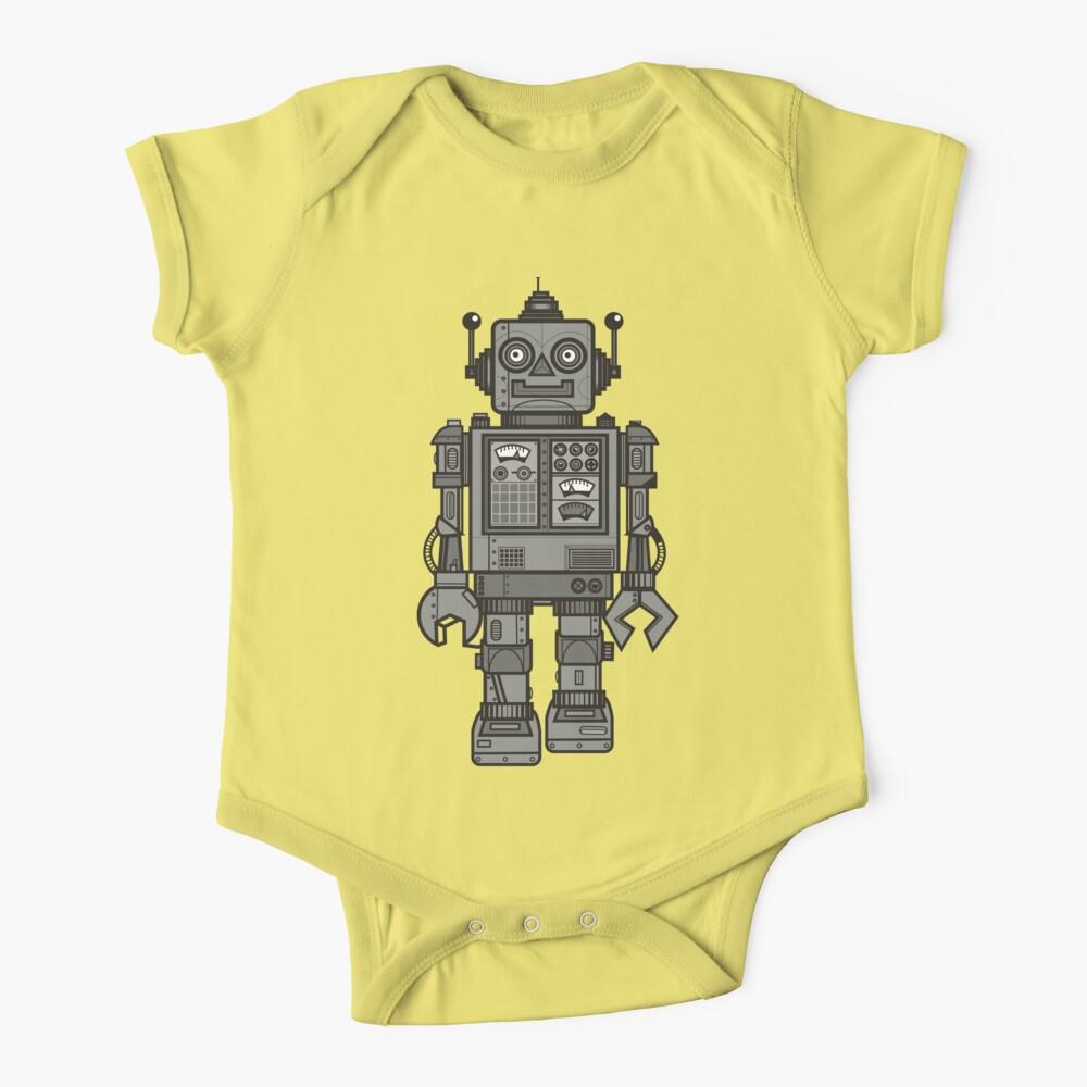 Vintage Robot Baby One-Piece