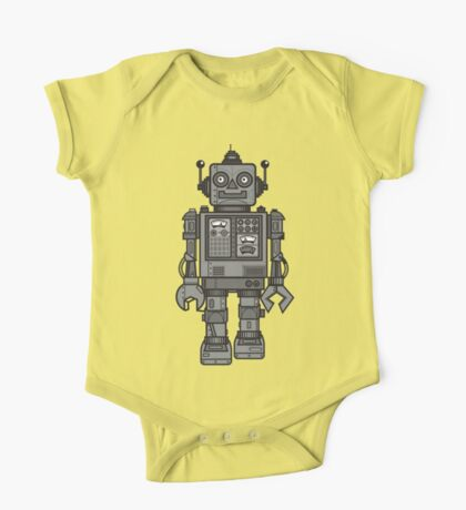 Vintage Robot One Piece - Short Sleeve