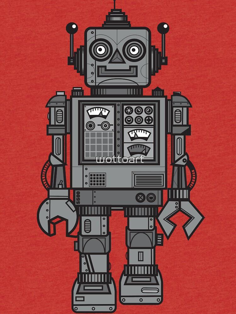 Weinlese-Roboter von wottoart