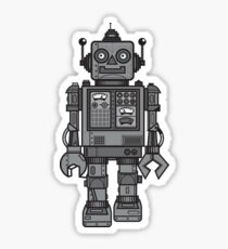 Vintage Robot Sticker