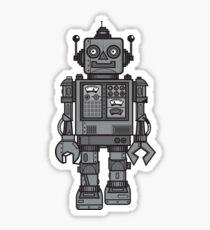 Weinlese-Roboter Sticker