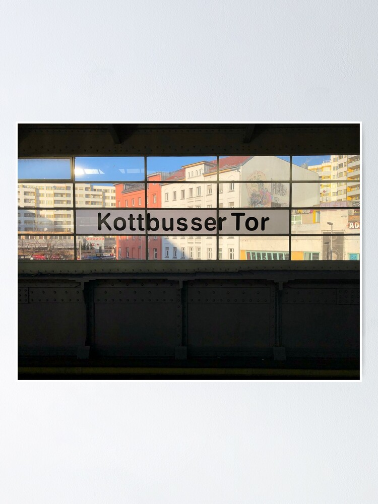 Alternate view of U Kottbusser Tor Poster