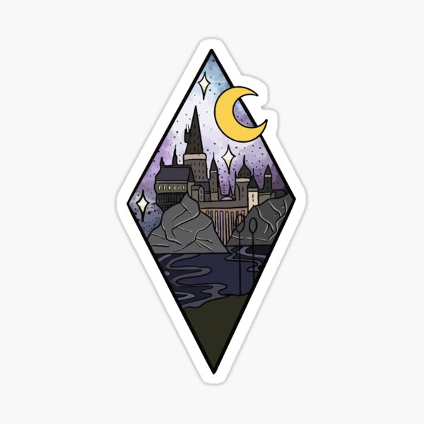 magic collection harry Sticker