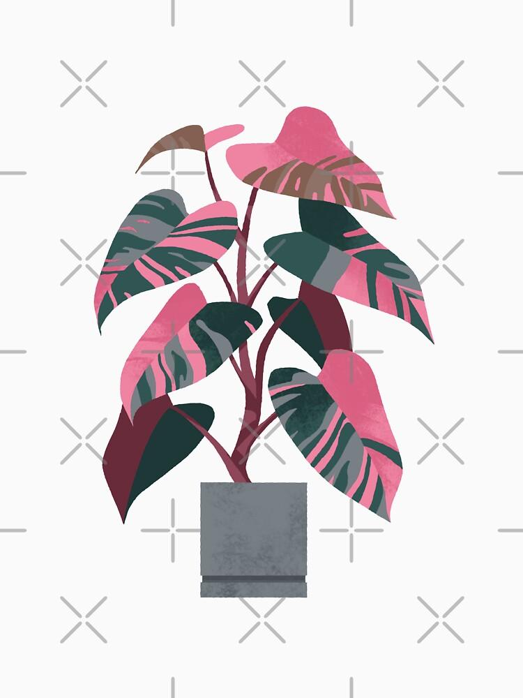 «Princesse rose Philodendron» par ikerpazstudio