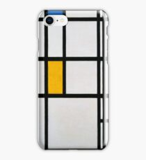 Piet Mondrian, Dutch,  Title Composition in R iPhone Case/Skin