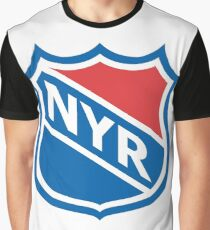 New York Old School Crest Graphic T-Shirt