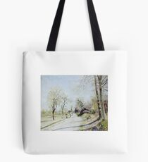 The Outskirts of Louveciennes,  Tote Bag