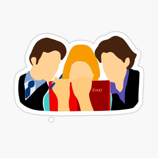 Bridget Jones Sticker  Sticker