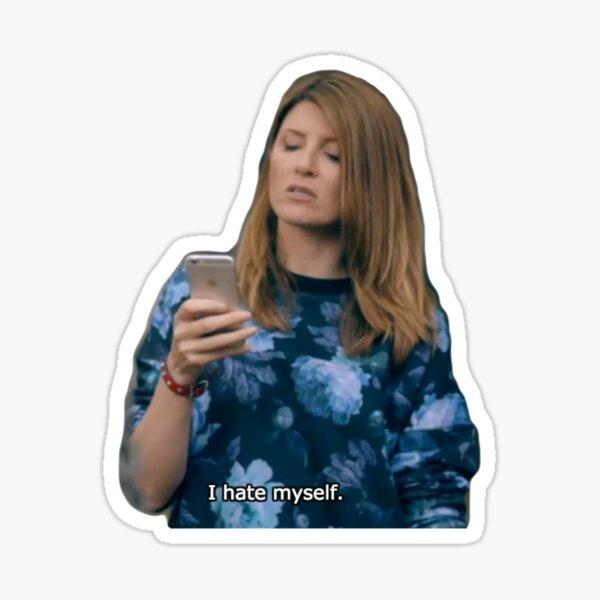 I Hate Myself Sticker