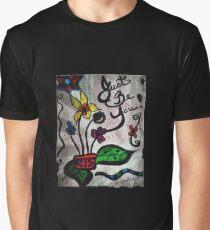 Rachel Doodle Art - Just Be You Graphic T-Shirt