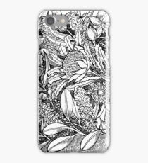 Botanical Echidna iPhone Case/Skin